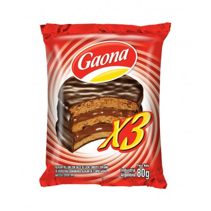 Alfajor Negro triple